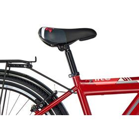s'cool XYlite 24 21-S - Vélo enfant - steel rouge